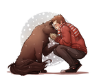 Sterek- Snowy Days by spider999now