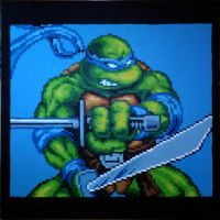 TMNT - Leonardo by Squarepainter