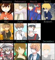 2014 Art Summary by ploy-nodoka