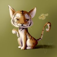 Meow that looks like tiger by cmondream
