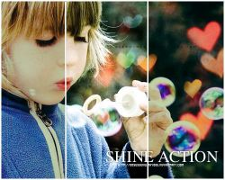 shine action by obsessedwithyoou