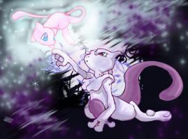 Mew lives in you by RikkuEst