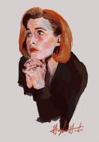 Scully by chunkymacaroni