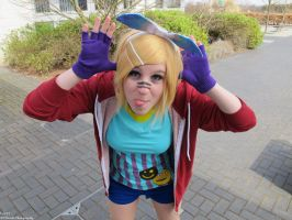 Vocaloid: Truly Playful by BluePandaCosplay