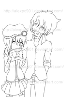 .:Love Notes Lineart:. by alexpc901