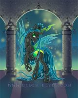 QUEEN OF THE CHANGELINGS by rubenreyes
