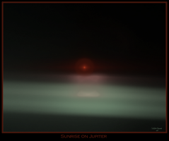 sunrise on jupiter by istarlome