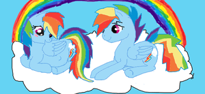 rainbow dash Pregnant of rainbow blitz 2 by cynder45667