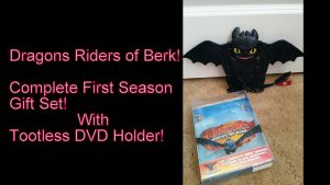 Toothless DVD Holder! by Vesperwolfy87
