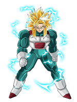 New Warrior USSJ by DBZArtist94