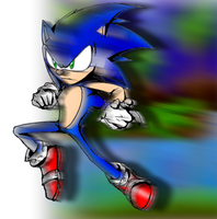 Sonic Losing My Color by Mephilez