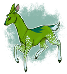 - Green Deer. by Ducktrot