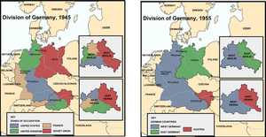 Alternate Division of Germany by nanwe01
