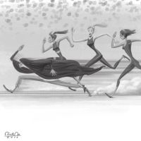 when she racing by unknowingguy