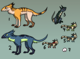 auction adoptables CLOSED by Asralore