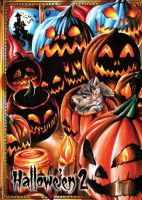 Jack-O-Lanterns Base Card Art Achilleas Kokkinakis by Pernastudios