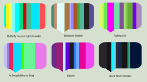 OPEN Name your price vocaloid themed palette adopt by 77SAR77