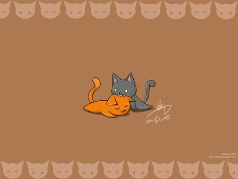 Kitty Cats by shanku
