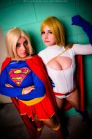 Supergirls by Mikycosplay