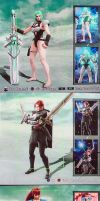 Soul Calibur V: Misc OCs by PhiTuS