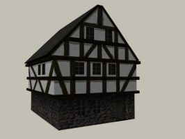 Medieval house pic2 by CaronCC