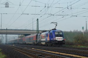 1116 222 'Red Bulletin' with Railjet train by morpheus880223