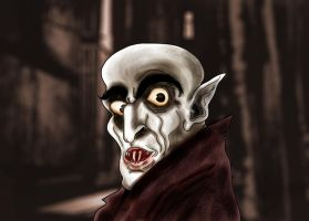 Nosferatu the Vampire by Makinita