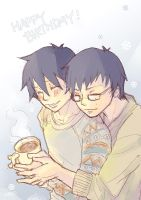 Happy birthday for Okumura Brothers by gtchuang