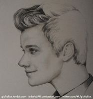 Chris Colfer - work in progress - by JuliaFox90