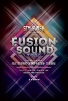 Fusion Sound Flyer by styleWish