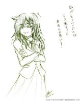 Freesketch 52: Tomoko Kuroki by everwander