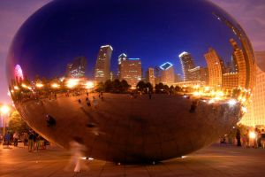 The Bean Night Life by AndersonPhotography