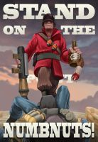 TF2 Soldier Propaganda by Legato895