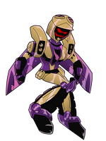 TFA Chibi: Random Blitzwing by AnimePeep33