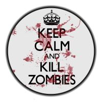 Calm kill zombies by Babs9