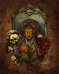 Mistress of Skulls and Roses by Marker-Mistress