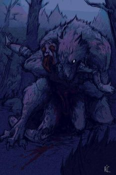 Werewolf Prey by Ace by Nathan123qwe
