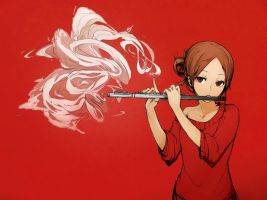 Wish-Granting Flute by VL-Arancia