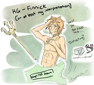 Hunger Games- Finnick by Omnomnom-Monster