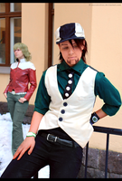Tiger and Bunny, Over and Out by mosaicvirus