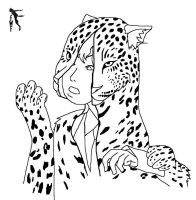 Spotted Leopard Costume line 1 by Fighting-Wolf-Fist
