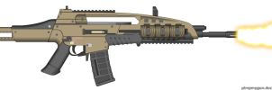 Black Ops 2 M8A1 (Final Version, Select Fire) by Scarlighter