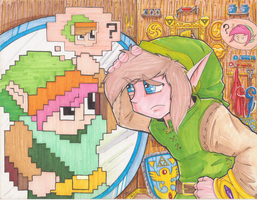 ALTTP PRINT - Colored by ArwingPilot114