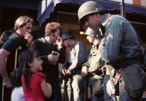Girl and soldier by photoart1