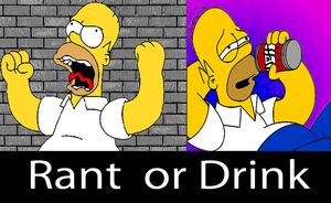rant or drink by GAME-ART-EDITED-ART