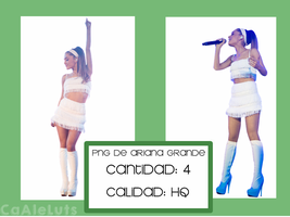 Ariana Grande Png 003 by CaAleLuts