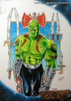 Drax The Destroyer by shaotemp