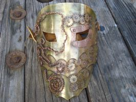 Steampunk Mask 1 by tungstenwolf