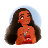 Moana by AninhaT-T