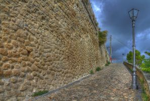 The wall - HDR by yoctox